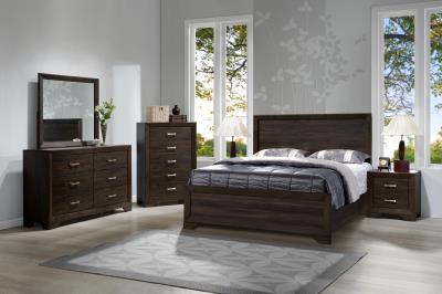 1030 U2013 Asheville Dark Mango Bedroom